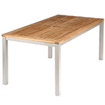 Barlow Tyrie Aura Dining Tables, White