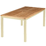 Barlow Tyrie Aura Dining Tables, Champagne� width=