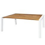 Mamagreen Baia Dining Tables, White Post Legs