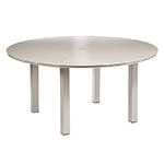 Cane-line Cayman Circular Dining Table White