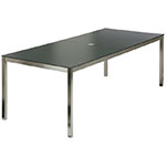Barlow Tyrie Equinox Dining Tables, Ceramic Top
