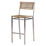 Barlow Tyrie Equinox Bar and Counter Height Side Chairs