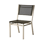 Barlow Tyrie Equinox Dining Side Chair, Charcoal