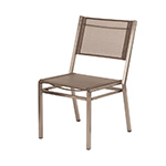 Barlow Tyrie Equinox Dining Side Chair, Titanium