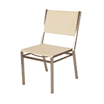 Barlow Tyrie Equinox Dining Side Chair, White