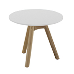 Gloster Dansk Coffee Table, White Top