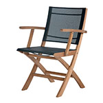 Barlow Tyrie Horizon Folding Carver Chair� width=