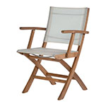 Barlow Tyrie Horizon Folding Carver Chairs
