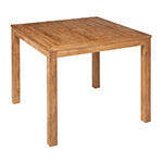 Barlow Tyrie Linear Square Dining Table