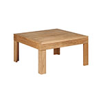 Barlow Tyrie Linear Square Coffee and Side Tables
