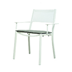 Rausch Long Beach Stacking Dining Armchairs