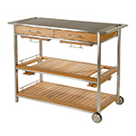 Barlow Tyrie Mercury Serving Table