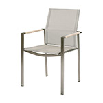 Barlow Tyrie Mercury Dining Armchair, White