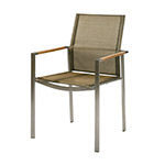 Barlow Tyrie Mercury Stacking Armchairs