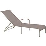 Royal Botania QT Lounger with Wheels, Cappuccino