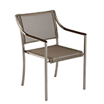 Barlow Tyrie Quattro Modern Dining Chairs