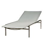Barlow Tyrie Quattro Lounger, Pearl