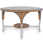 Lloyd Flanders Reflections Round Dining Table