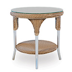 Lloyd Flanders Reflections Round End Table
