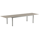 Royal Botania Taboela Extendable Dining Tables, Cappuccino Ceramic Top