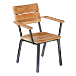 Barlow Tyrie Titan Stacking Rustic Armchair