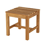 Barlow Tyrie Felsted Side Table / Footstool