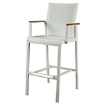 Barlow Tyrie Aura High Dining and Counter Height Carver Chairs
