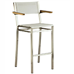 Barlow Tyrie Equinox Bar Chairs with Arms
