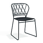 Skargaarden Reso Dining Chair with Fabric Seat