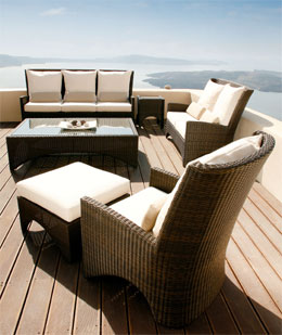 Savannah Deep Seating :  wicker curranonline deep seating wicker collection