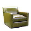 Bloomsbury Collection, Leather Upholstered Chair