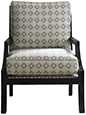 Joe Ruggiero Collection, Conrad Upholstered Chair