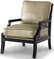 Joe Ruggiero Collection, Conrad Leather Upholstered Chair