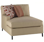 Joe Ruggiero Collection, Maison Fabric Upholstered Chaise