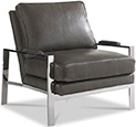 Joe Ruggiero Collection, Mesa Leather Upholstered Chair