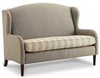 Joe Ruggiero Collection, Wong Upholstered Settee