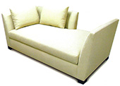 Marvin Custom Upholstered Open-Back Sofa
