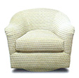 Sherlock Custom Upholstered Swivel Chair