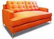 Stefano Collection, Fabric Upholstered Sleeper Sofa