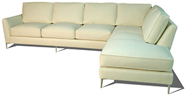 Steven Collection, Fabric Upholstered Sectional