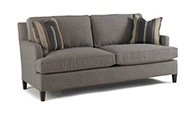 Excellence Collection, Bower Fabric Upholstered Demi Sofa