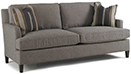 Excellence Collection, Bower Fabric Upholstered Sofa