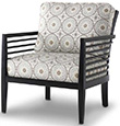 Excellence Collection, Java Upholstered Chair