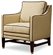 Excellence Collection, Aria Leather Upholstered Chair