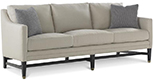 Excellence Collection, Aria Fabric Upholstered Sofa