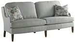 Excellence Collection, Cooper Fabric Upholstered Sofa