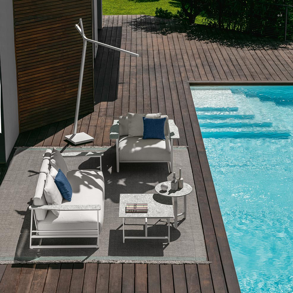life of leisure: the riviera collection brings timeless sophistication to your backyard retreat