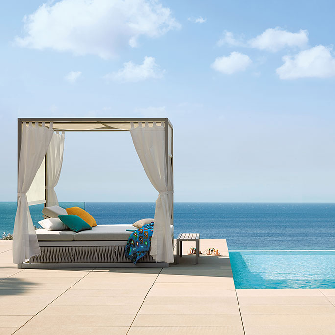 a dreamy place to get away: kalife daybed