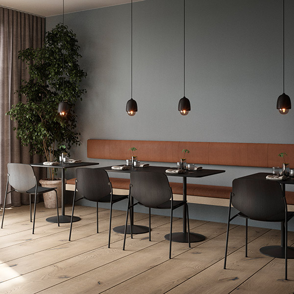 just the right atmosphere: four small terho pendant lights