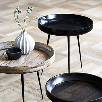 mater's bowl tables: craftsmanship in style